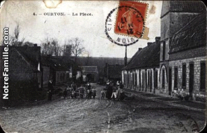 Ourton - Carte Postal Ancienne