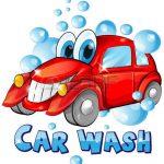 Lavage de voiture à l'Ecole Curie Pagnol d'OURTON